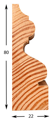 Bespoke Moulding - Pricing Example