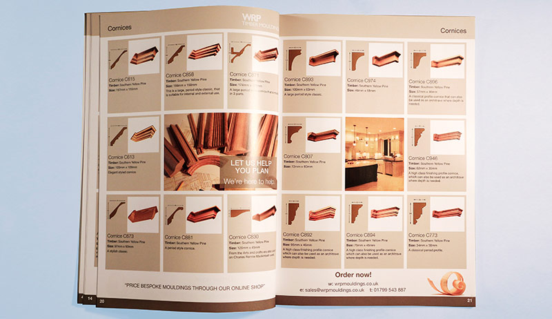 Download our timber mouldings brochure