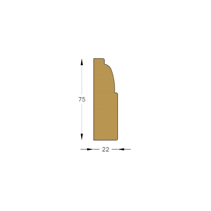 Moulding A579 (MDF Moisture Resistant) - Architraves - WRP Timber ...