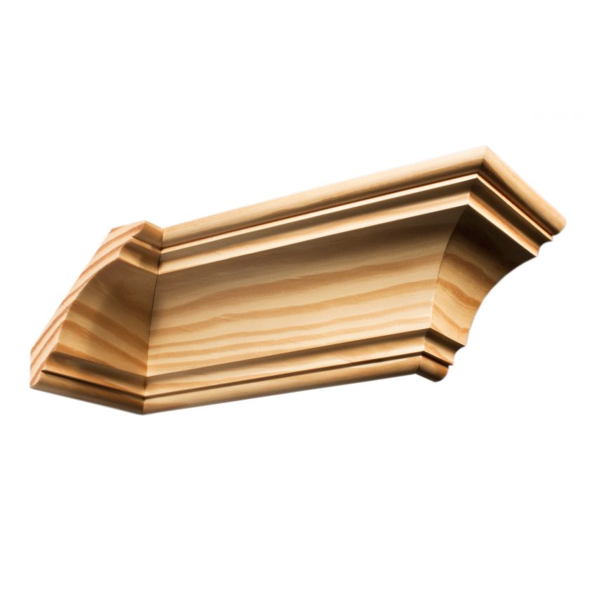 Moulding C672 Southern Yellow Pine Cornices Wrp
