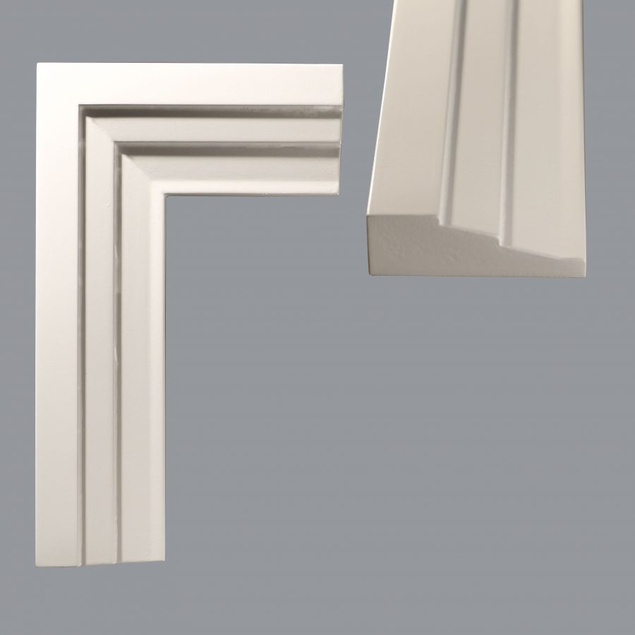 Moulding a575 mdf moisture resistant architraves wrp for Modern door casing profiles