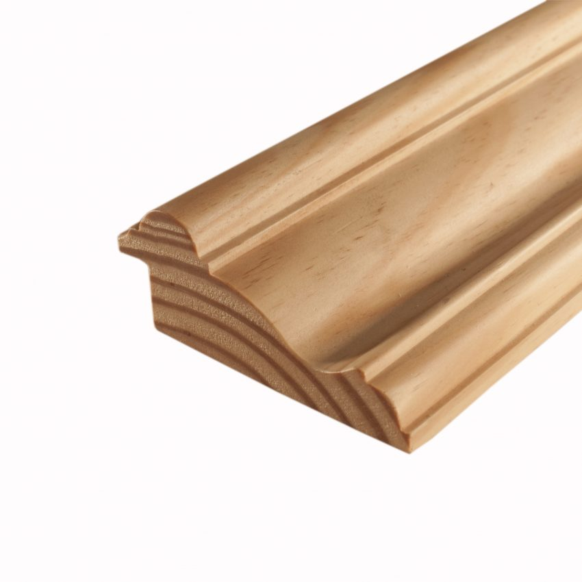 moulding f961 southern yellow pine   picture rail frame