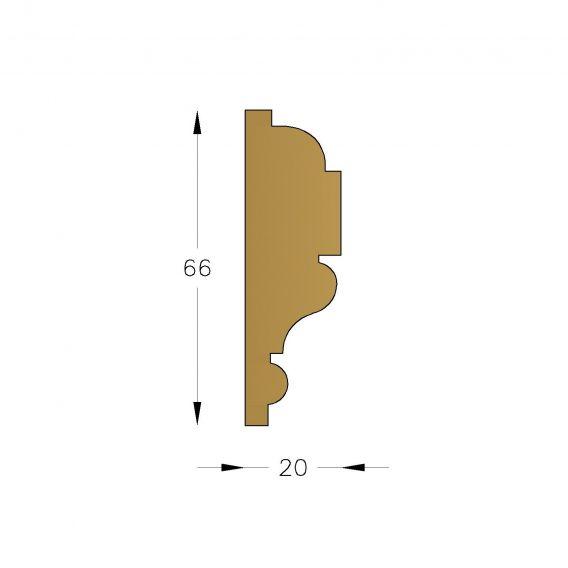 Dado-rails #D1237