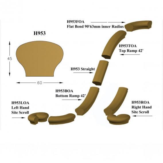 Hand-rails #H953