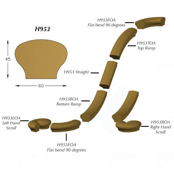 Hand-rails #H953LSA