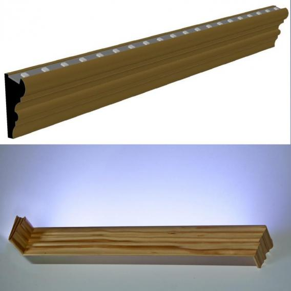 Picture-rail-frame #P940LED